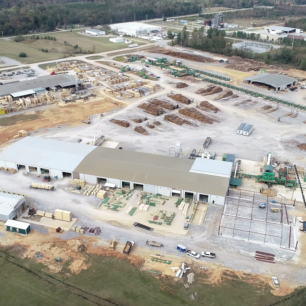 NEW $30 MILLION STATE-OF-THE-ART SAWMILL, SUNBELT FOREST VENTURES, OPENS IN SELMA